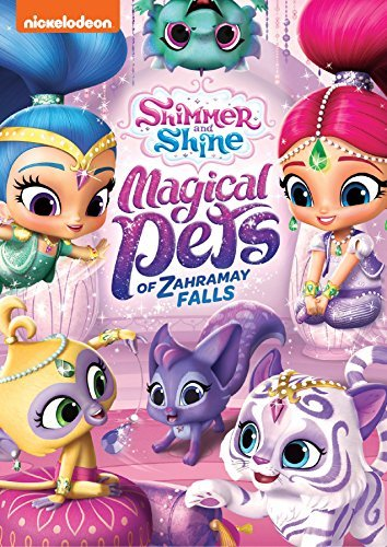 Shimmer & Shine Magical Pets Of Zahramay Falls DVD
