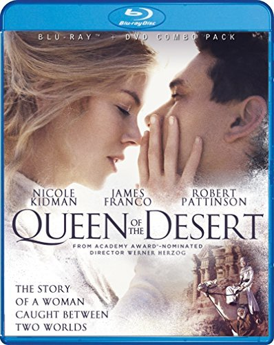 Queen Of The Desert Kidman Franco Blu Ray DVD Pg13