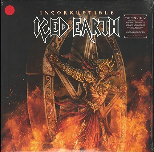 Iced Earth Incorruptible (red Vinyl) Ltd To 500 Copies Indie Exclusive