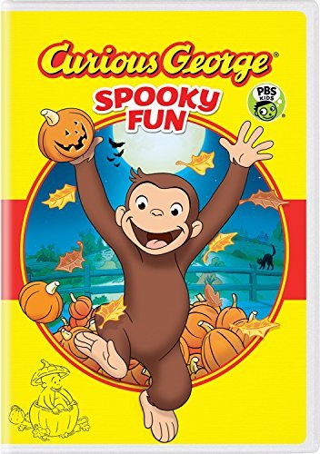 Curious George Spooky Fun DVD