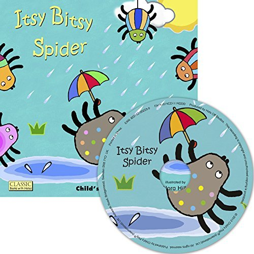 Nora Hilb Itsy Bitsy Spider [with CD (audio)]