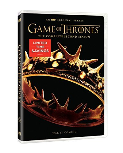 Game Of Thrones Season 2 DVD Limited Time Special Price