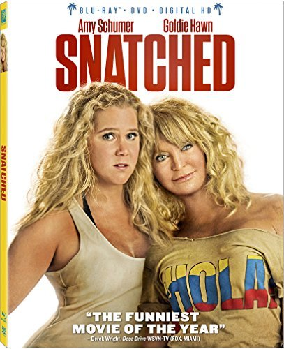 Snatched Schumer Hawn Blu Ray DVD Dc R