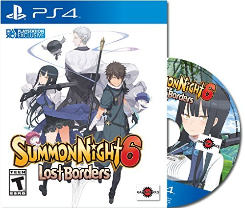 Ps4 Summon Night 6 Lost Borders First Edition