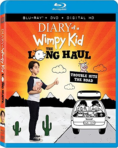 Diary Of A Wimpy Kid The Long Haul Drucker Silverstone Scott Blu Ray DVD Dc Pg