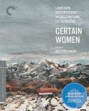 Certain Women Dern Stewart Williams Blu Ray Criterion