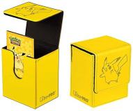 Deck Box Pokemon Pikachu Yellow Faux Leather Deck Box