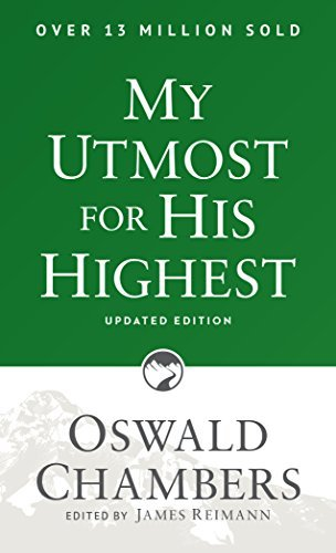 Oswald Chambers My Utmost For His Highest Revised Update