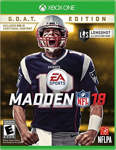 Xbox One Madden Nfl 18 G.O.A.T. Edition