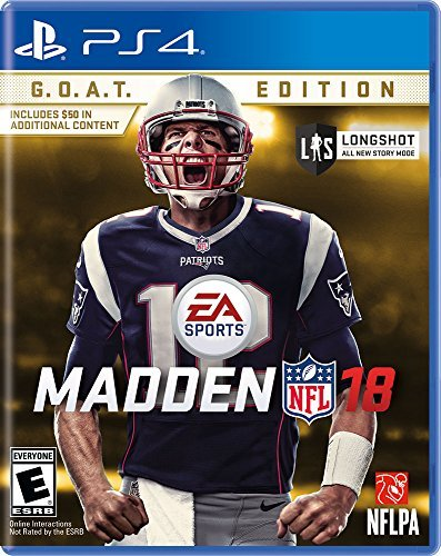 Ps4 Madden Nfl 18 G.O.A.T. Edition