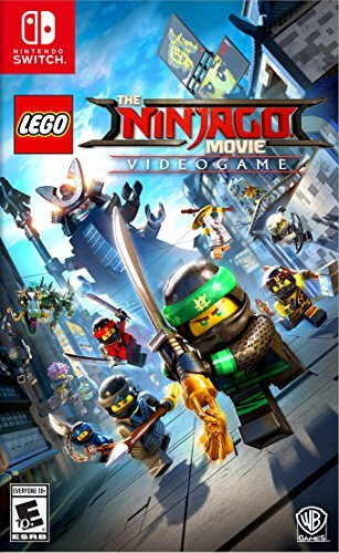 Nintendo Switch Lego Ninjago Movie Videogame