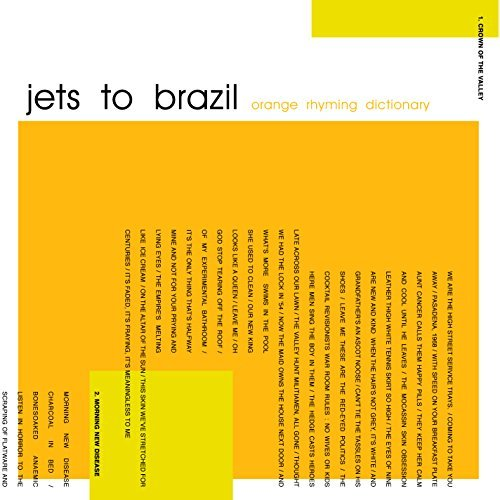 Jets To Brazil Orange Rhyming Dictionary 2 Lp 180 Gram
