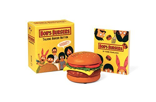 Robb Pearlman Bob's Burgers Talking Burger Button