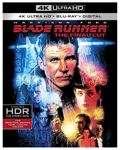 Blade Runner Ford Hauer Young Walsh Olmos 4k Final Cut