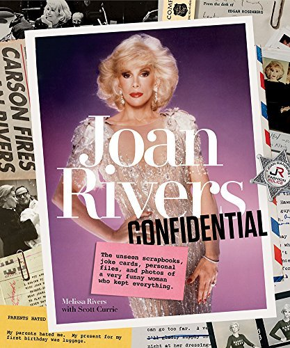 Melissa Rivers Joan Rivers Confidential The Unseen Scrapbooks Joke Cards Personal Files