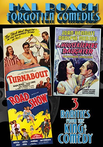 Hal Roach Forgotten Comedies Collection Housekeeper's Daughter Turnabout Road Show DVD Nr