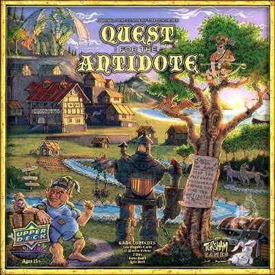 Board Game Quest For The Antidote