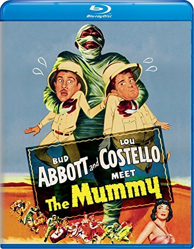 Abbott & Costello Meet The Mummy Abbot Costello Blu Ray Nr