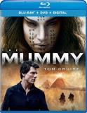 Mummy (2017) Cruise Crowe Boutella Wallis Blu Ray DVD Dc Pg13