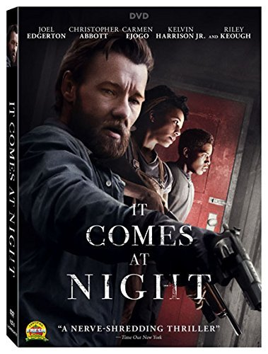 It Comes At Night Edgerton Abbot Keough DVD R