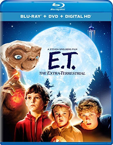 E.T. The Extra Terrestrial Barrymore Thomas Wallace Coyote Blu Ray DVD Dc Pg