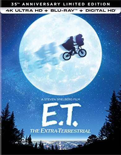 E.T. The Extra Terrestrial Barrymore Thomas Wallace Coyote 4khd 35th Anniversary Limited Edition