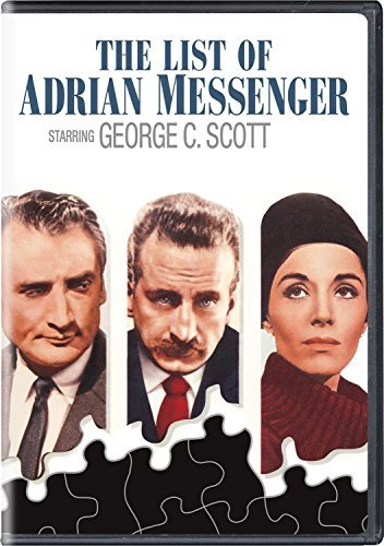 List Of Adrian Messenger Scott Douglas DVD Nr