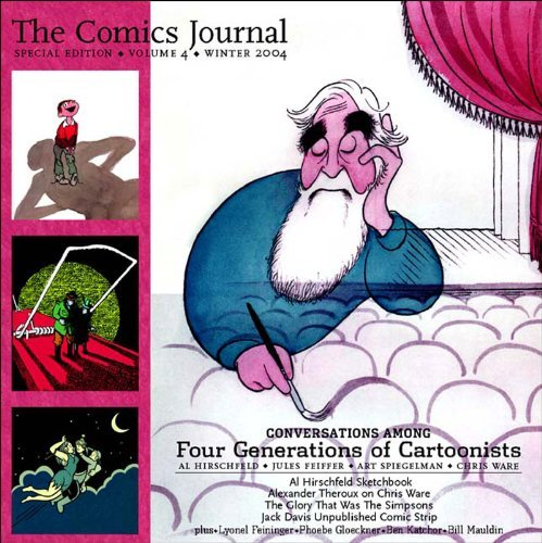 Gary Groth Comics Journal Winter 2004 Cartoonists On The Shock Of Recognition