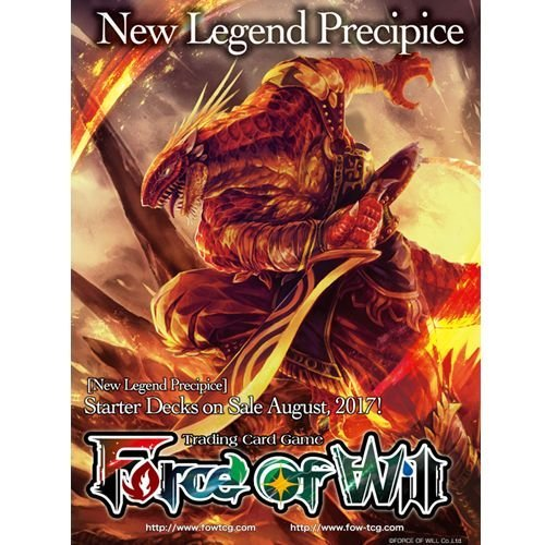 Force Of Will Cards New Legend Precipice Fire Starter Deck