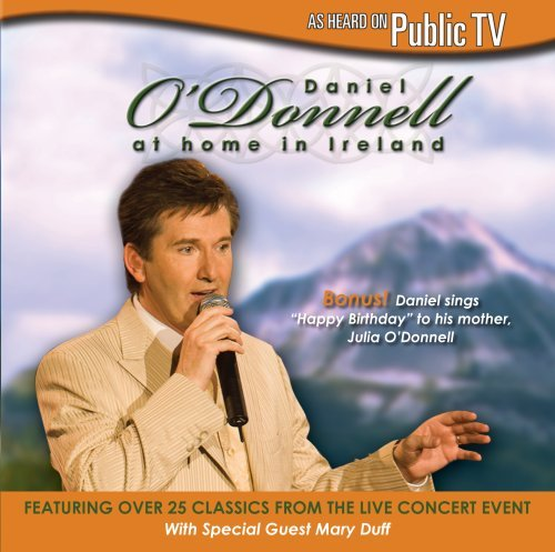 Daniel O'donnell At Home In Ireland 2 CD Set