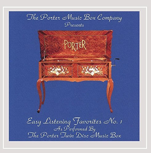 Porter Music Box Co Music Boxes Easy Listening