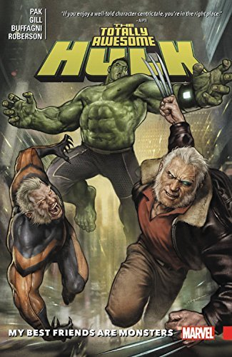 Greg Pak The Totally Awesome Hulk Vol. 4 My Best Friends Are Monsters