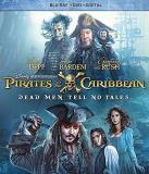 Pirates Of The Caribbean Dead Men Tell No Tales Depp Bardem Blu Ray DVD Dc Pg13