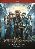 Pirates Of The Caribbean Dead Men Tell No Tales Depp Bardem DVD Pg13