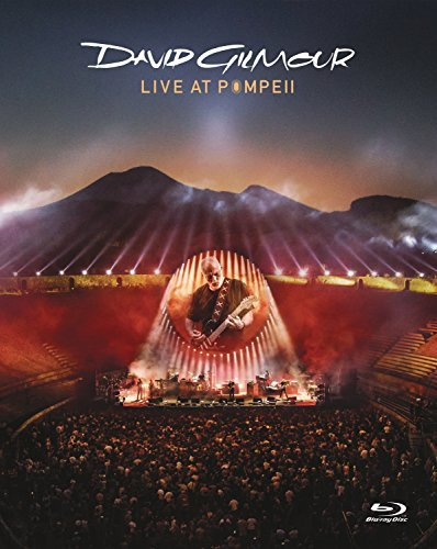 David Gilmour Live At Pompeii 1 Blu Ray DVD In Casebook Blu Day Sized Package