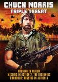 Chuck Norris Triple Threat Triple Feature DVD R
