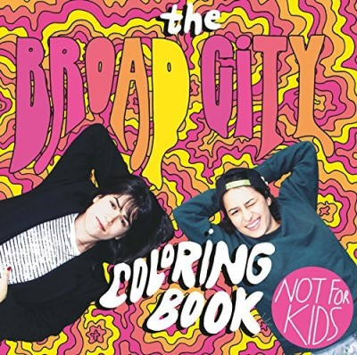 Mike Perry The Broad City Coloring Book