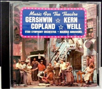 Music For The Theatre Gershwin Kern Copland Weill Music For The Theatre Gershwin Kern Copland