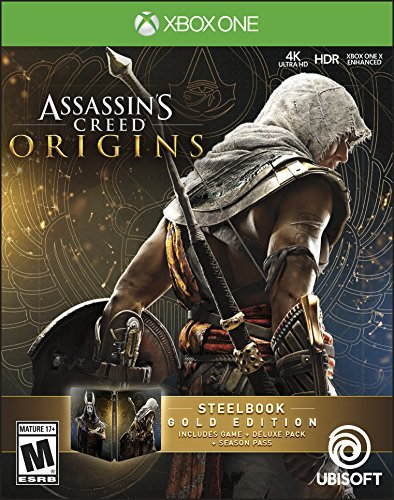 Xbox One Assassins Creed Origins Steelbook Gold Edition