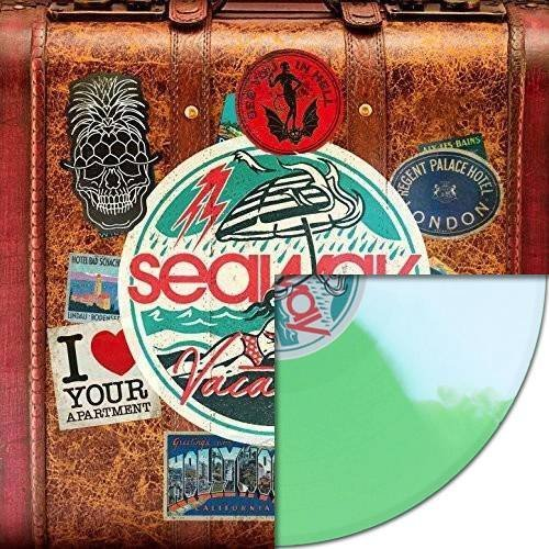 Seaway Vacation (indie Exclusive) Indie Exclusive Green White Split Colored Vinyl