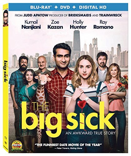 The Big Sick Nanjiani Kazan Blu Ray DVD Dc R