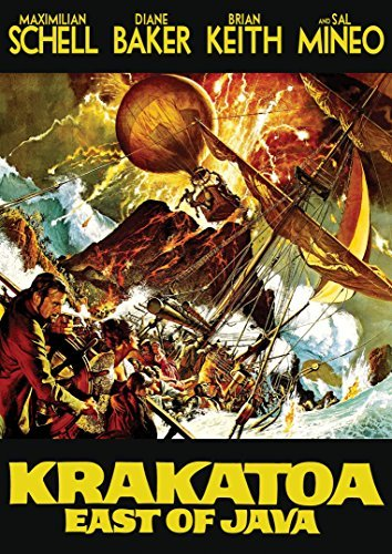 Krakatoa East Of Java Schell Baker DVD G