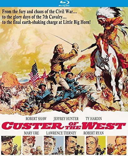 Custer Of The West Shaw Hunter Blu Ray G