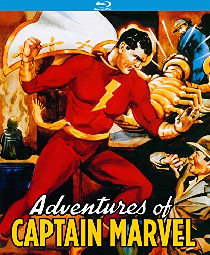 Adventures Of Captain Marvel Tyler Coghlan Blu Ray Nr