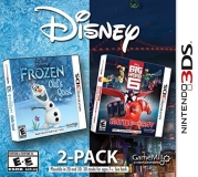 Nintendo 3ds Disney Frozen & Big Hero 6 2 Pack
