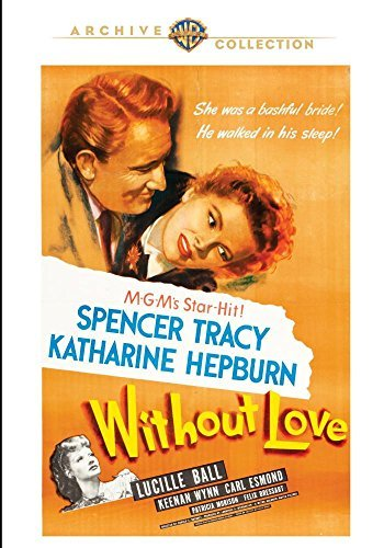 Without Love Tracy Hepburn DVD Mod This Item Is Made On Demand Could Take 2 3 Weeks For Delivery