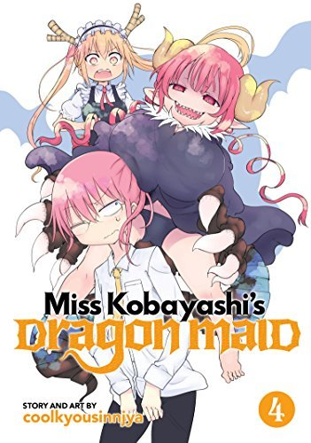 Coolkyoushinja Miss Kobayashi's Dragon Maid Vol. 4