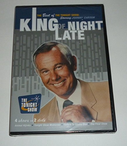 Johnny Carson The Best Of The Tonight Show King Of Late Night