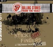 Rolling Stones From The Vault Sticky Fingers Live 2015 DVD CD