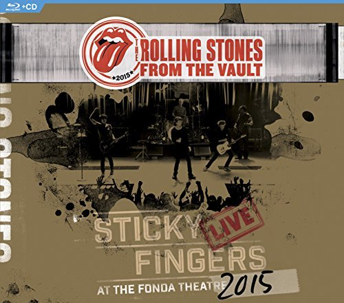 Rolling Stones From The Vault Sticky Fingers Live 2015 Bd + CD